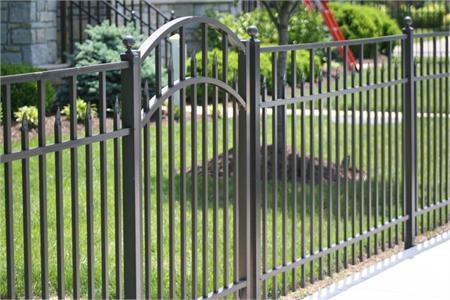 Residential Aluminum Fence Style Essex