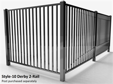 Specrail Derby Aluminum Fence