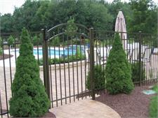 Specrail Aluminum Fence and Gate