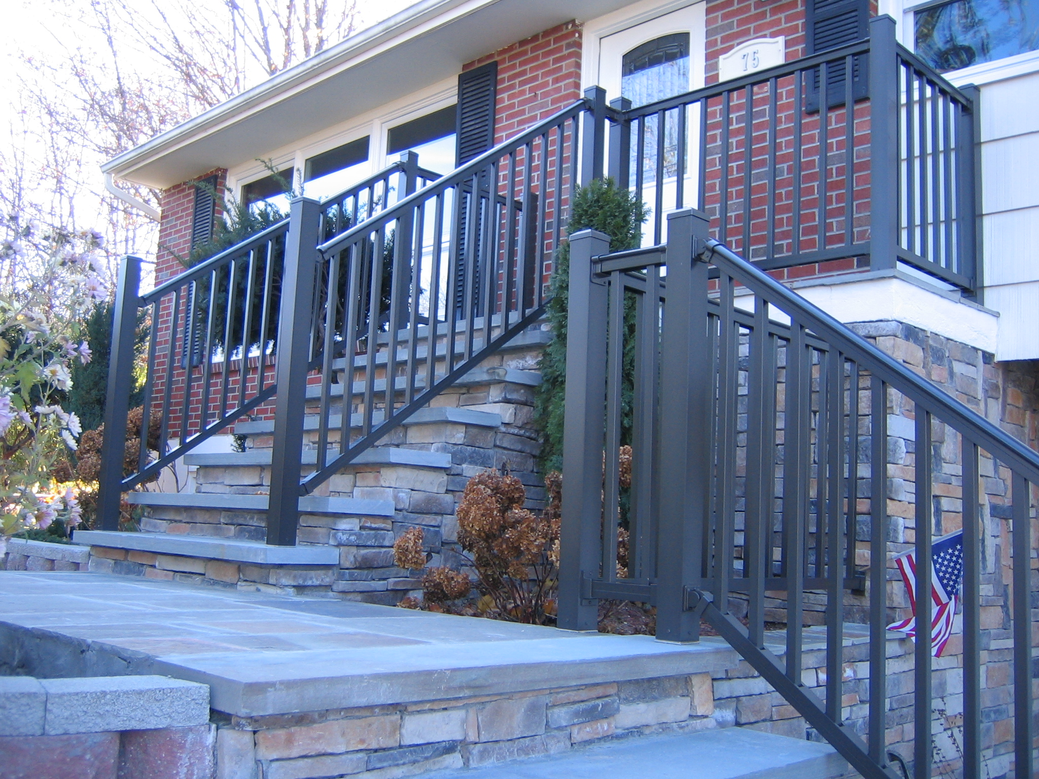 Ornamental railing panels - Premium Deck And Porch Railing